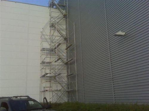 Tours d'accès détachées – tours escaliers détachées