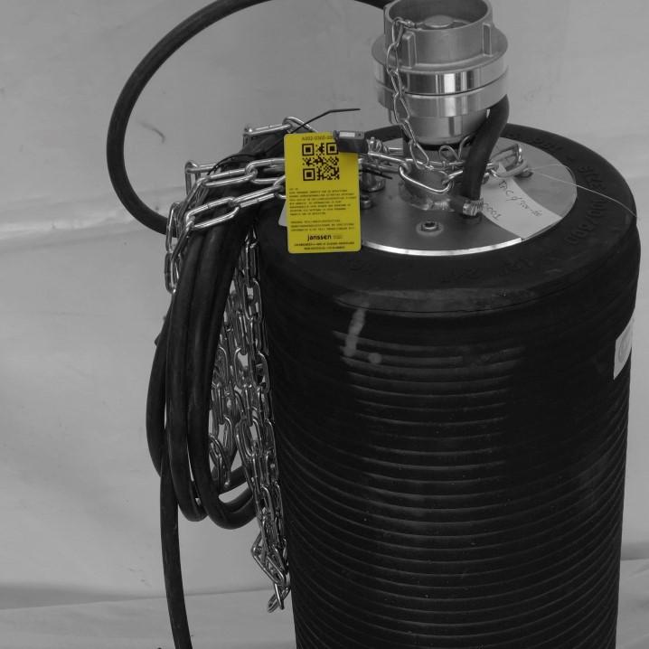 Rioolafsluiters A002 -Testafsluitcilinders