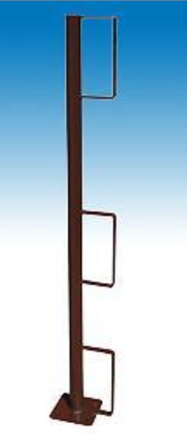 Werfix - Randbeveiliging - Leuninghouder-met houdersboord-om vast te schroeven