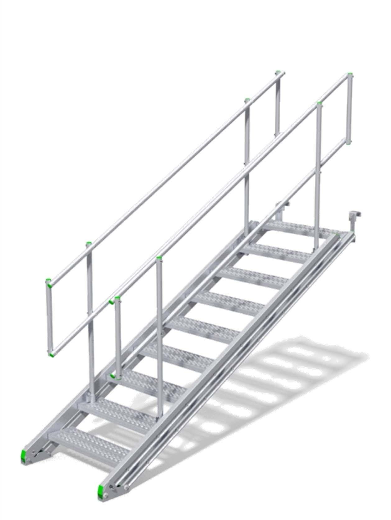Trap uitschuifbaar van min 557mm tot max 4146mm  – Ranger trap