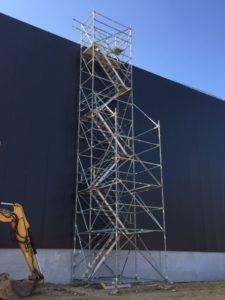 Trappentoren Sabert 12m met uitbouw