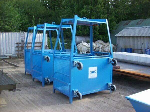 Personenkooi met wielen Werfix