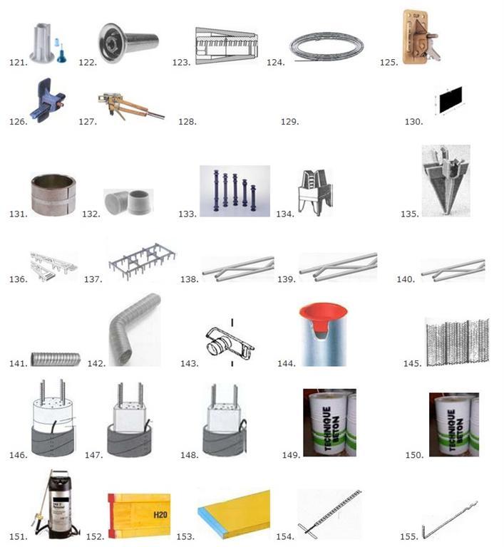Bekisting en beton Art. 121-200