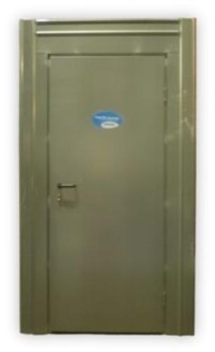 Porte de sécurité pour chantiers