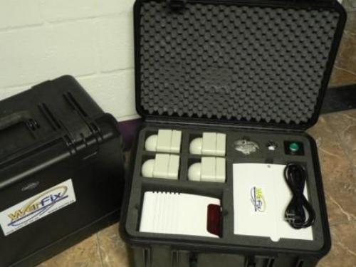 Beveiliging tegen inbraak op werven – mobiel alarm- tijdelijk of permanent