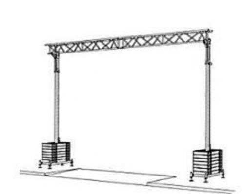 Pont pour câble type kb 7,5