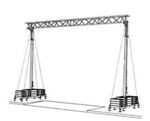 Pont pour câble type kb 7,4 – 50kg