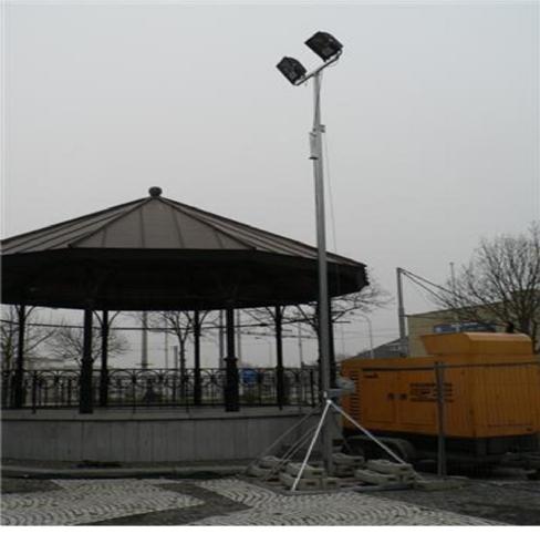 Lichtmast 3,00 tot 6,00m – Vrijstaand Type1