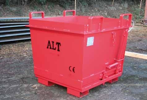 Bodemklepcontainer standaard